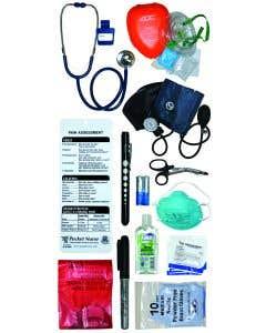 Pocket Nurse® Pre-Designed EMT Tote - Ships ORMD