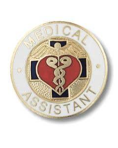 01-77-1006 Medical Assistant Pin