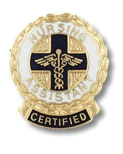 01-77-1075 Certified Nursing Assistant Pin