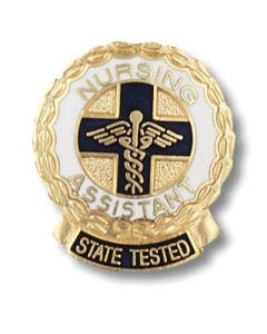 State Tested Nursing Assistant Pin