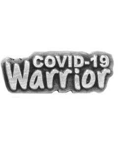 Lapel Pin, COVID-19 Warrior