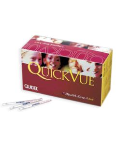 02-19-0108 Quidel QuickVue Strep Test - (ships ORMD)