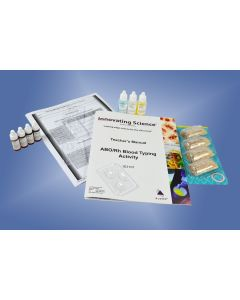 02-19-3101 Simulated ABO/Rh Blood Typing Kit