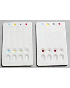 Erycard ABO Blood Typing Card