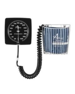 02-20-2118-ADLT Wall-mount Aneroid Sphygmomanometer with Basket