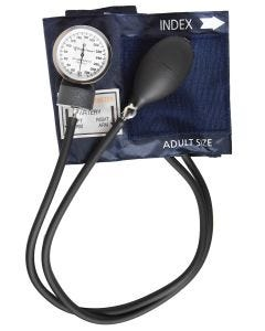 Pocket Nurse® BP Cuff, Adult, Navy Blue