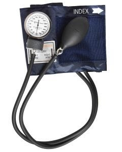 02-20-5350 Pocket Nurse Blood Pressure Cuff, Navy, Child