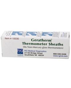 Geratherm® Thermometer Sheaths for Non-Mercury Glass Thermometer