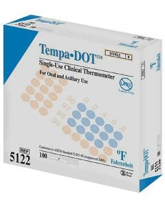 Tempa-DOT Disposable Oral Thermometer