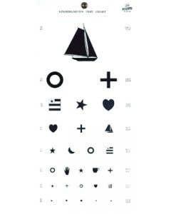 Graham Field Kindergarten Eye Chart