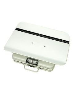 Mechanical Tray Scale Pounds Only 50lb Capacity Portable - 19 3/8 x 12 3/8 x 3 3/4 Inch