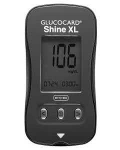 GLUCOCARD®  Shine XL Blood Glucose Monitoring System