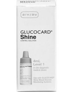 GLUCOCARD Shine Control Solution for GLUCOCARD Shine Blood Glucose Monitoring System