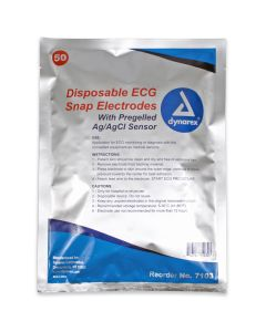 02-43-7103 Disposable ECG Snap Electrodes