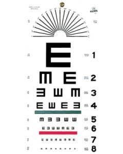 Graham Field Illiterate Eye Chart