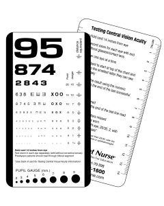 Pocket Nurse® Pocket Eye Chart