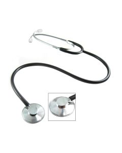 Pocket Nurse® Single-Head Stethoscope, Black