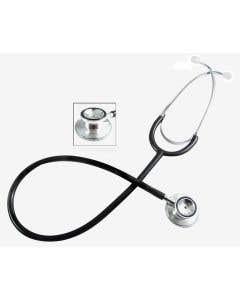 Pocket Nurse® Dual-Head Stethoscope, Black