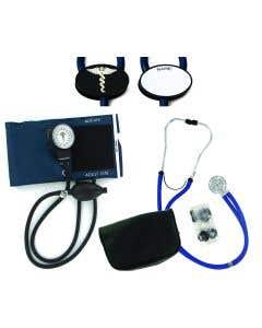 02-80-3106 Pocket Nurse® Dual Head Navy Sprague Diagnostic Set
