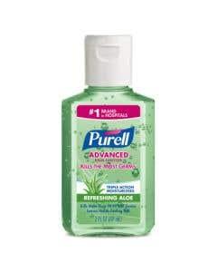 03-04-8224 PURELL™ Advanced Hand Sanitizer Aloe Gel 2oz Bottle - (ships ORMD)  | Backordered item due to Covid-19.  ETA TBD