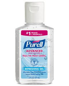 PURELL® Advanced Hand Sanitizer Gel ORMD 2 oz.