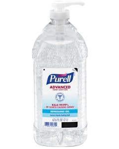 Purell® Advanced Hand Sanitizer Gel 2-Liter Bottles ORMD