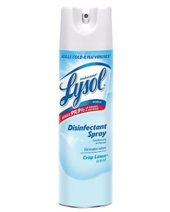 Lysol® Disinfectant Spray, Crisp Linen Scent19 oz. ORMD