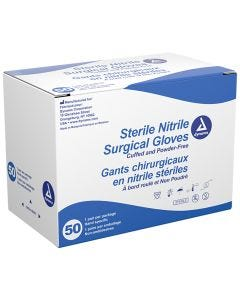 03-47-0653 Sterile Nitrile Surgical Gloves, Powder Free