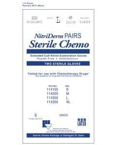 03-47-1141 Innovative Healthcare Corporation NitriDerm® EC Sterile Chemo Pairs  | Backordered BTO item due to Covid-19.  ETA TBD