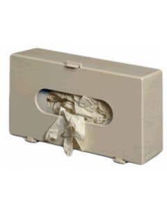 Glove Dispenser 7 x 11 3/4 x 4 Inch - Beige