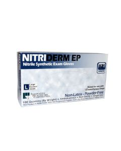 03-47-2200 Innovative Healthcare Corporation NitriDerm® EP Powder-Free Nitrile Synthetic Gloves | B/O item due to Covid-19. ETA TBD