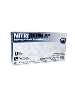 03-47-2200 Innovative Healthcare Corporation NitriDerm® EP Powder-Free Nitrile Synthetic Gloves