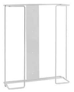Wire Glove Dispenser, Horizontal Mount, Three Box Holder, White