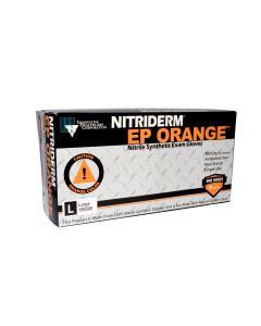 03-47-9100 Innovative Healthcare Corporation NitriDerm® EP Orange® Powder-Free Nitrile Synthetic