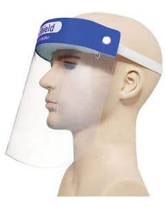 03-75-1108 PVC/PET Face Shield with Foam Strip  | Preorder Today  ETA 8-7