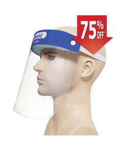 Face Shield with Foam Strap