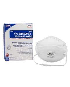 N95 Respirator Mask, Cone, White