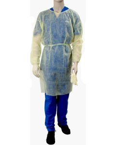 Fluid Resistant Isolation Gowns  | Backordered item due to Covid-19.  ETA 9/7