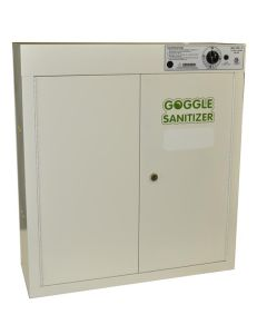 Goggle Sanitizer - UV Sanitizing Cabinet - 36 Goggle Capacity, Wall - Mountable