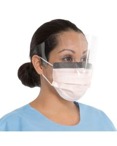 Fluidshield Procedure Mask with Wrap-Around Visor