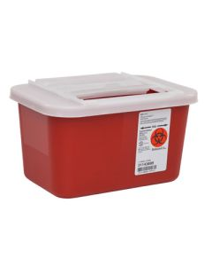 03-78-5201 Sharps-A-Gator™ Sharps Container with Slide Lid - 1 Gallon