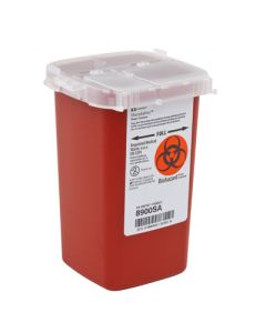 03-78-8900 SharpSafety™ Phlebotomy Sharps Container - 1 Quart