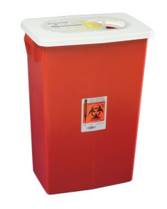 03-78-8936 SharpSafety™ Sharps Container Gasketed Slide Lid - 12 Gallon