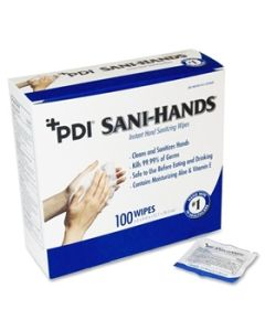 PDI® Sani-Hands Antimicrobial Hand Cleaner Wipes - (Ships ORMD)