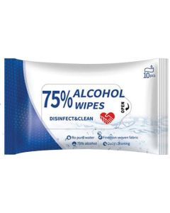 Disinfectant Alcohol Wipes 10/Pack