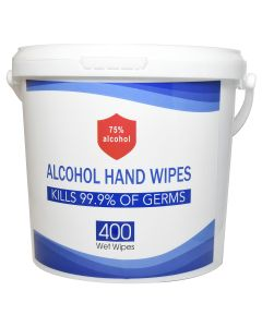 Anti-Bacterial Wet Wipes, 400/Pail, ORMD