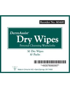 Innovative Healthcare Corporation DermAssist® Dry Wipes | Backordered item due to Covid-19