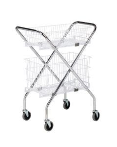 "04-25-0212 Clinton 12"" Wire Basket Only for Use with Folding Cart Frame 04-25-0233"
