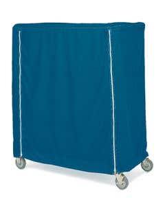 Four-Shelf Chrome Manikin Storage Cart