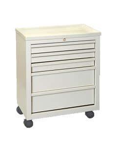 Five Drawer Treatment Cart